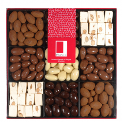 Chocolate Almond and Nougat Selection Gift Box