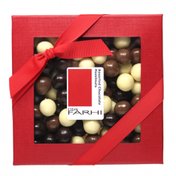 Rita Farhi Assorted Chocolate Coated Hazelnuts in a Gift Box