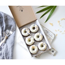 Coconut Baked Doughnuts | Vegan & Refined Sugar Free (Box of 6)