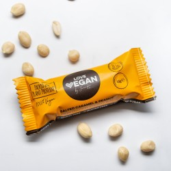 Love Vegan High Energy Protien Bite 45g Caramel and Peanut
