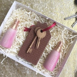 New Home Chocolate Keys Set