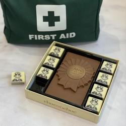 NHS Nurses Chocolate Rosette