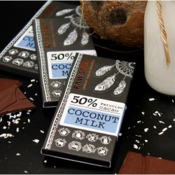 Raw Coconut Milk Chocolate Bars (5 Bars)