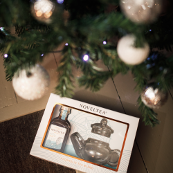 Teapot Gift Set | 25cl Earl Grey (11% ABV) & Mini Teapot