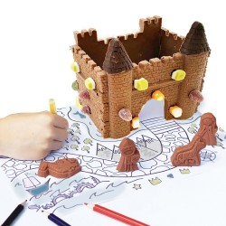 Decorate Your Own Milk Chocolate Castle