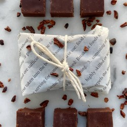 75% Single Origin Chocolate Fudge Brownie Bites (Set of 12)