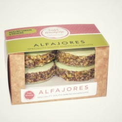 South-American Alfajores | Hazelnut & Pistachios Biscuits (2 Packs)