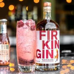 Firkin Gin Red Wine Cask, Cotes Du Roussillon, 70cl