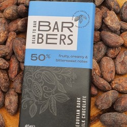 Nut Free 50% Dark Milk Chocolate Bars (4 Bars)