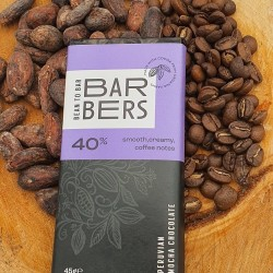 Peruvian 40% Mocha Chocolate Bars (4 Bars)