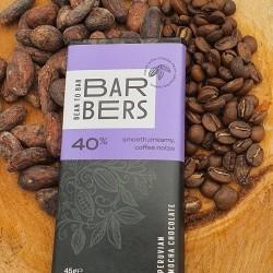 Peruvian 40% Mocha Chocolate Bars (4 Bars)