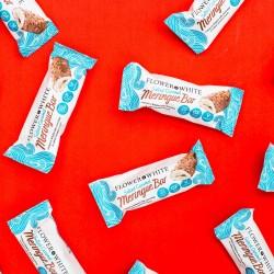 Premium Low Calorie Salted Caramel Meringue Chocolate Bars (Box of 12)