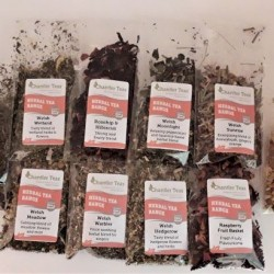 Large 10 Tea Herbal Loose Leaf Tea Sample Collection