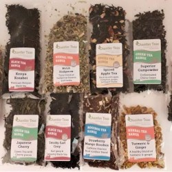 Large Loose Leaf Tea Blends Mixed 10 Sample Pack