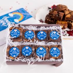 Thank you - Rainbow Luxury Brownie Gift Box