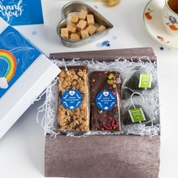Thank you - Rainbow Vegan Afternoon Tea Gift Box (Gluten & Soya-Free)