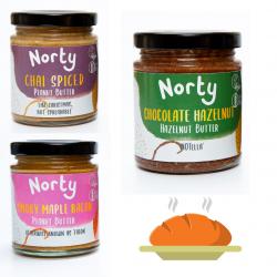 Norty Sourdough Essentials Nut Butter Bundle