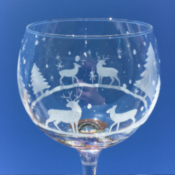 Stag & Doe Personalised Gin Glass