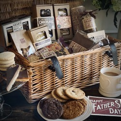 Father's Day Large Basket Hamper Of Treats