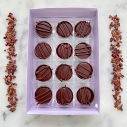 Vegan Chocolate Caramel Truffle Box