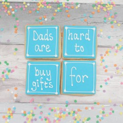 Dads Are Hard to Buy for Cookie Gift Set