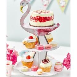 Flamingo Cake Stand