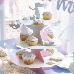 Mermaid Cupcake Stand And Cake Toppers
