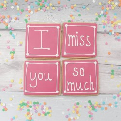 I Miss You So Much Cookie Gift Set