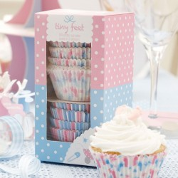 Tiny Feet Cupcake Cases: Pack Of 100