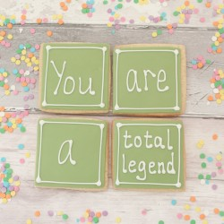 You are a Total Legend Cookie Gift Set