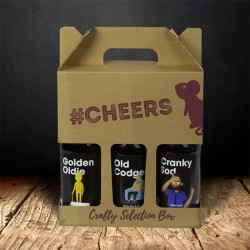 Comedy Themed Three Beer Selection Gift Box