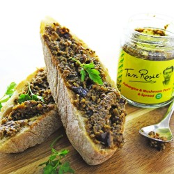 Nut & Dairy Free Aubergine & Mushroom Pesto and Spread (3 Pack)