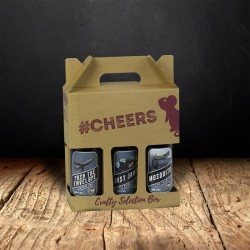 """Aero"" Three Beer Gift Set"