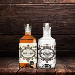 Beckford's Rum Gift Set - Coconut Rum and Caramel Rum (2x20cl)