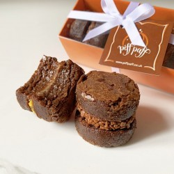 Brigadeiro Brownie & Blondie Sandwich Gift Box