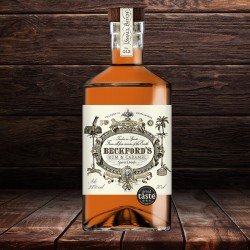 Beckford's Award Winning Caramel Rum (70cl)