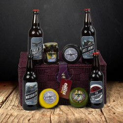 Cheese, Planes and Beers Gift Box