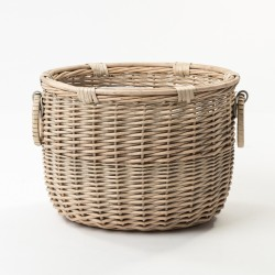 The Cheltenham Basket with Beautiful Handle Detail