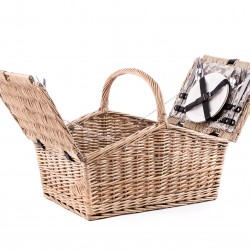 The Country Show 4 Person Fully Fitted Picnic Basket