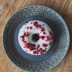 Vegan Red Velvet Baked Donut - Box of 6