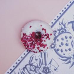 Vegan Raspberry & White Chocolate Baked Donuts - Box of 6