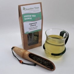 Japanese Cherry Rose Green Loose Leaf Tea