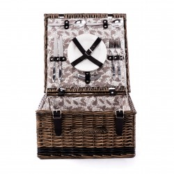 The Perfect Place 2 Person Fully Fitted Picnic Hamper