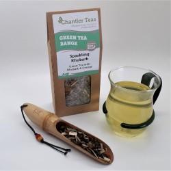 Sparkling Rhubarb Green Loose Leaf Tea