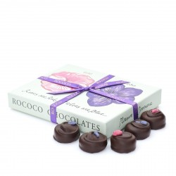 Luxury Rose & Violet Creams Chocolate Box