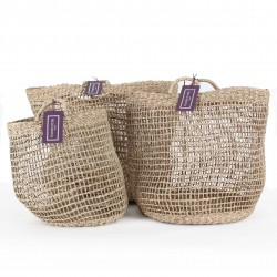The Sherborne Seagrass Baskets Trio