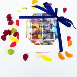 Happy Father's Day Personalised Vegan Sweets Gift Box