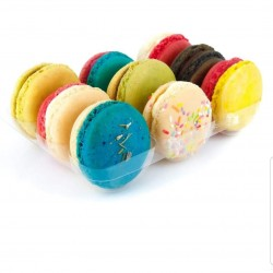 Macarons Mixed Flavoured Box (12 Macarons)