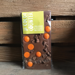 Orange and Chocolate Fudge Bars