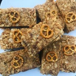 Peanut Butter Pretzel Bars (Box of 6)